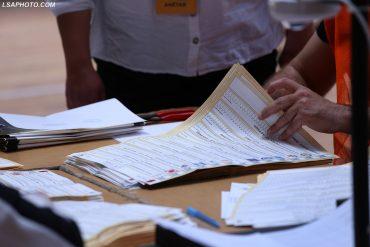 Zgjedhjet 25 Prilli, Numerimi (15)