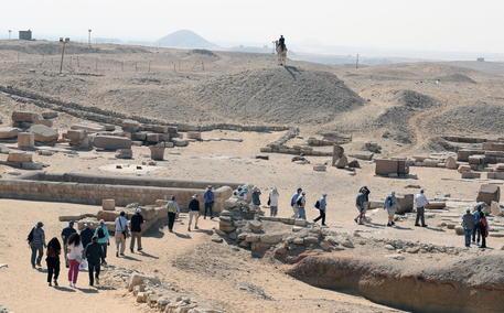 King Djoser's Step Pyramid Restoration In Egypt