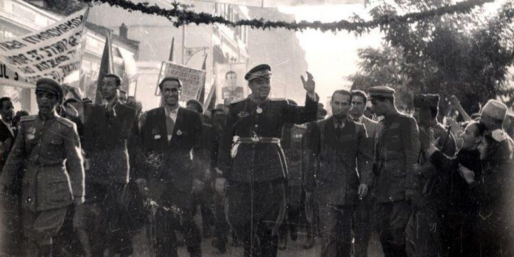 Enver Hoxha Gjate Vizites Ne Berat. 1947 750x375