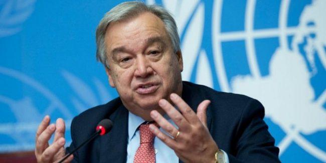 The Un Secretary General Antonio Guterres 696x348