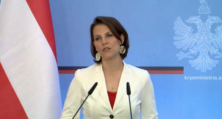 Ministrja Austriake