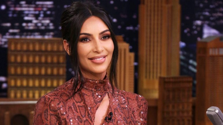 Kim Kardashian Tonight Show