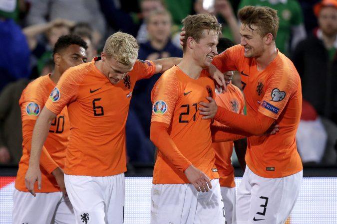 Holland V Northern Ireland Euro Qualifier