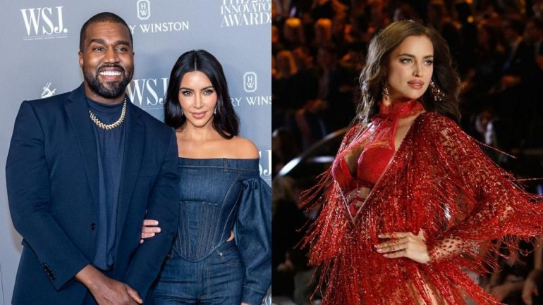 Kanye And Irina Shayk