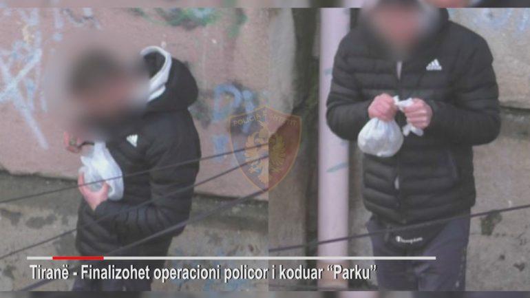 Policia Arreston Operacioni Parku