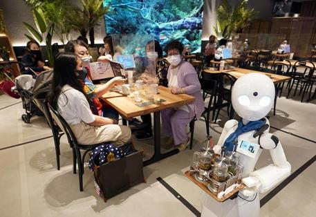 Avatar Robot Cafe Dawn Ver.beta In Tokyo