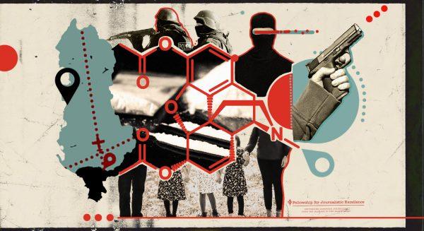 The Multi Billion Euro Global Cocaine Trade Has Had A Corrosive Impact On Albania's Public Institutions And Society Illustration Sanja Pantic Birn 600x327