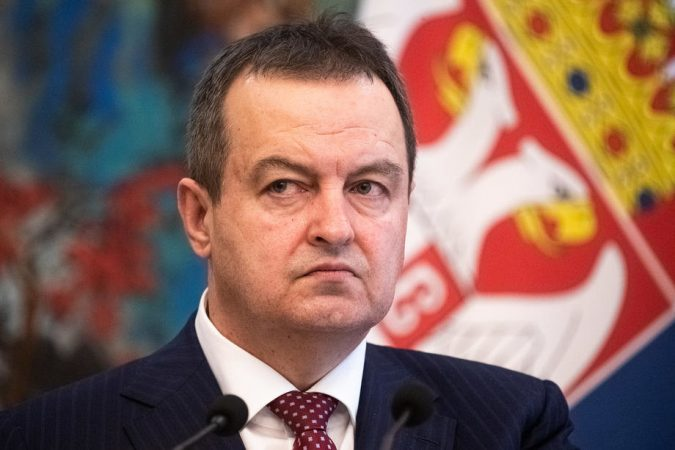 Serbian Foreign Minister Ivica Dacic Visits China