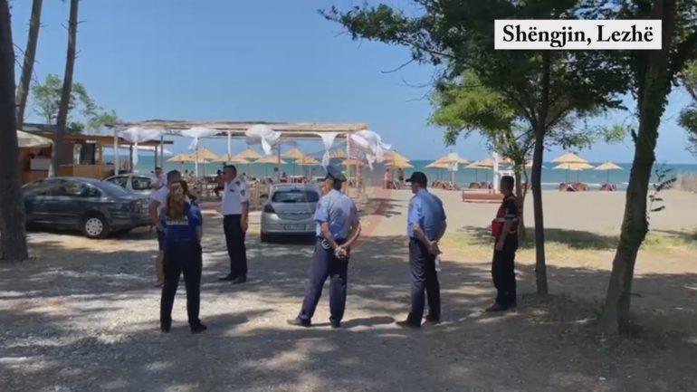 Policia Shengjin Lezhe