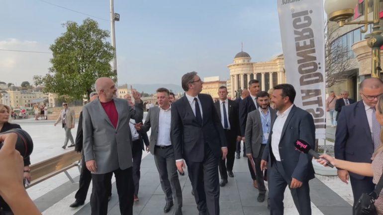 Rama Vucic Ne Shkup
