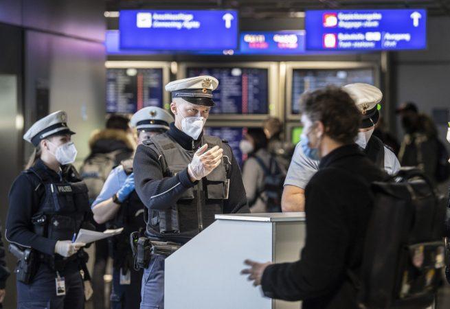Coronavirus Verschärfte Einreisekontrollen Frankfurt/main