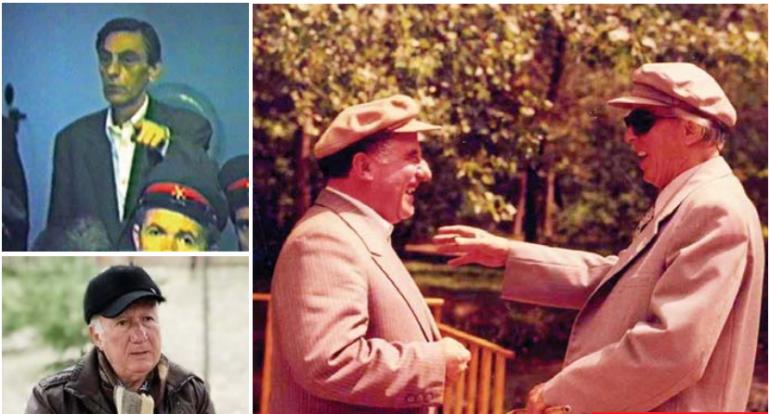 Enver Hoxha Dhe Hekuran Isai Kadri Hazbiu Luan Pogaci