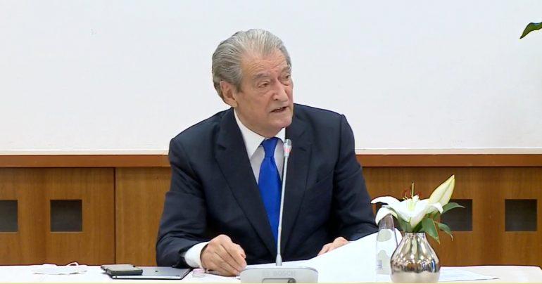 Sali Berisha Konference