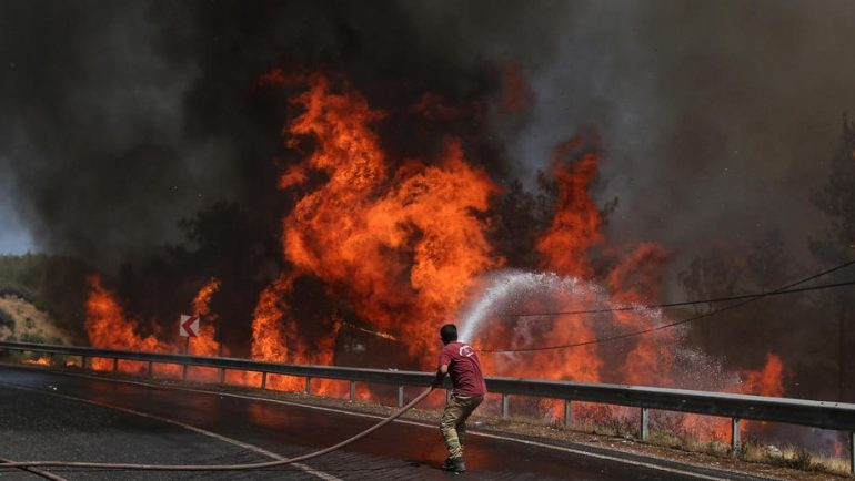 Wildfires In Southern Turkey
