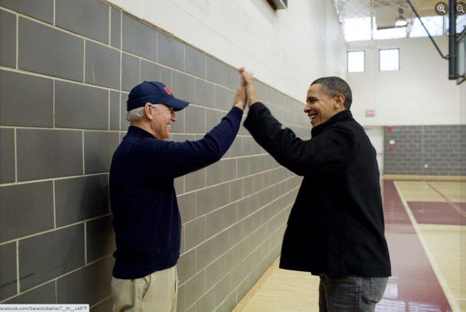 Biden Uron Obamen