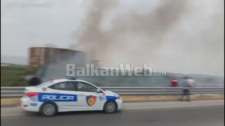 Zjarri Ne Rafinerine E Fierit