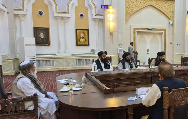Taliban Meeting Afghanistan1632240681 0