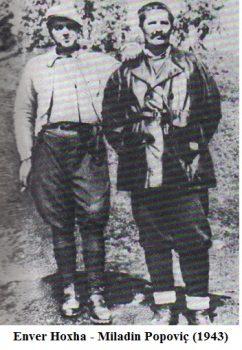 Enver Hoxha Popovic Tito 2