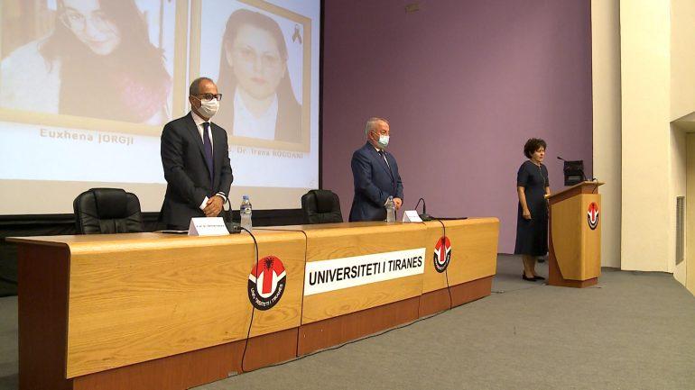 Universiteti I Tiranes Ceremonia