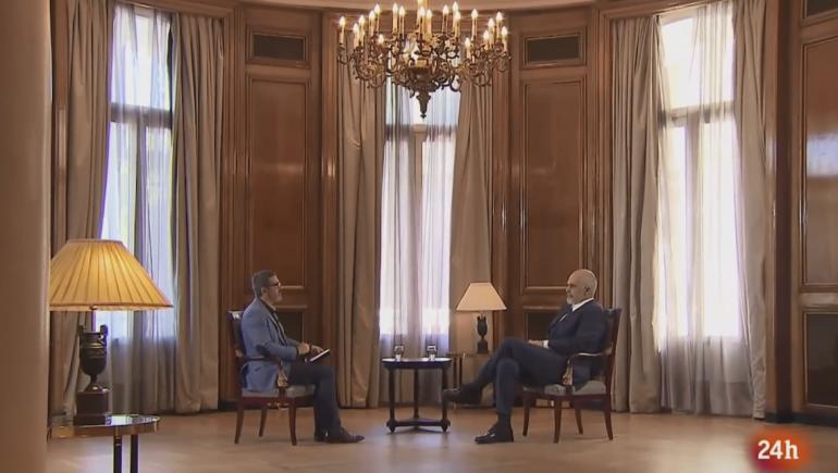 Rama Interviste Per Televizionin Spanjoll